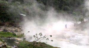 Shanay-Timpishka fiume ribolle
