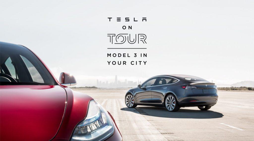 Tesla Model3 Tour