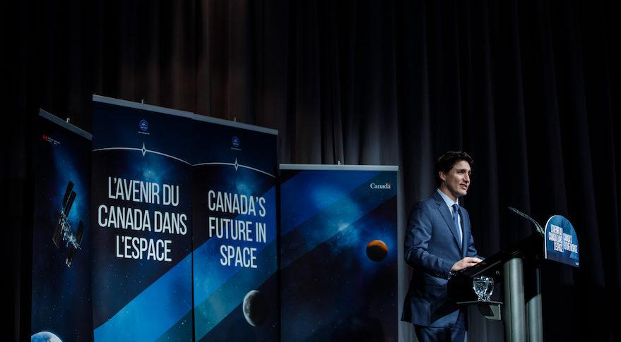 Trudeau Canada Lunar Gateway