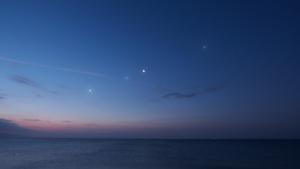 Venere Saturno Luna Giove