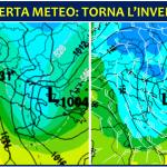 """Allerta Meteo, imminente """"frustata"""" d'inverno sul Marzo più caldo di sempre: torna la NEVE al Sud, attenzione a GRANDINE e violenti TEMPORALI"""