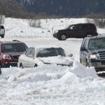"""USA, il """"ciclone bomba"""" scatena condizioni di blizzard sul Midwest: neve, inondazioni e forti venti. 2 vittime [FOTO e VIDEO]"""