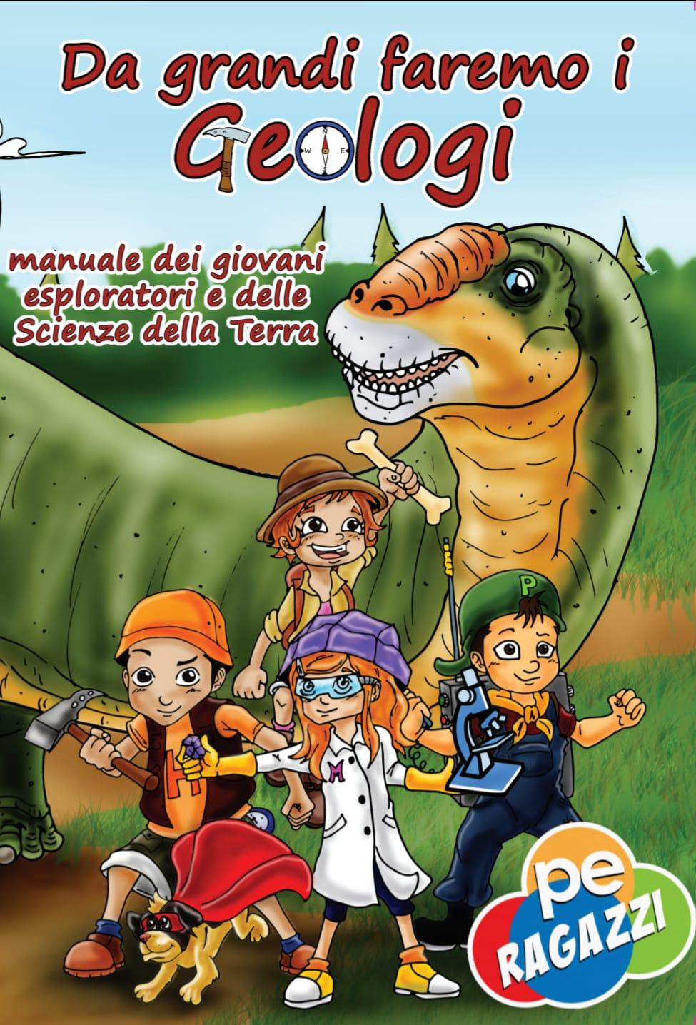 copertina da grandi faremo i geologi
