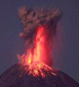 esplosione vulcano Popocatepetl Messico