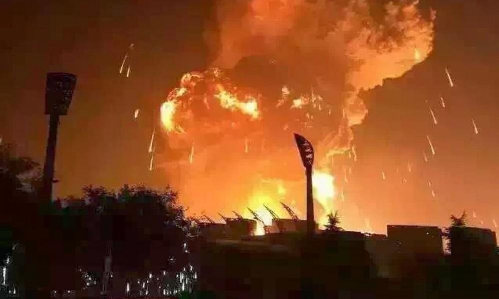 esplosione fuoco