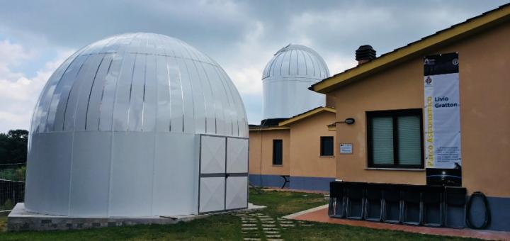 parco astronomico livio gratton rocca di papa