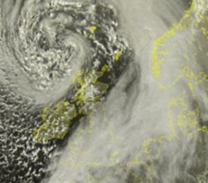 tempeste vento nord europa