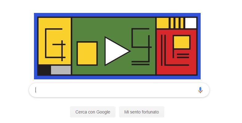 Oggi Google festeggia con un doodle il 100° anniversario del ...