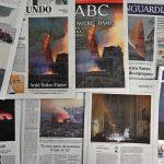 Parigi: il mondo intero piange l'incendio della Cattedrale di Notre-Dame [GALLERY]