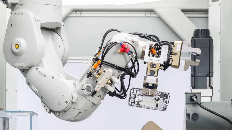 Daisy riciclaggio apple robot