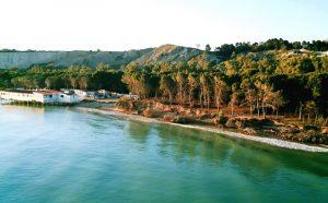 Eraclea Minoa erosione costiera