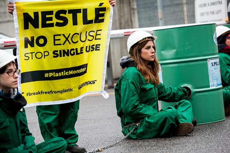 Greenpeace San Pellegrino