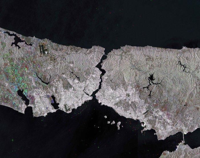 Lo Stretto del Bosforo, Turchia