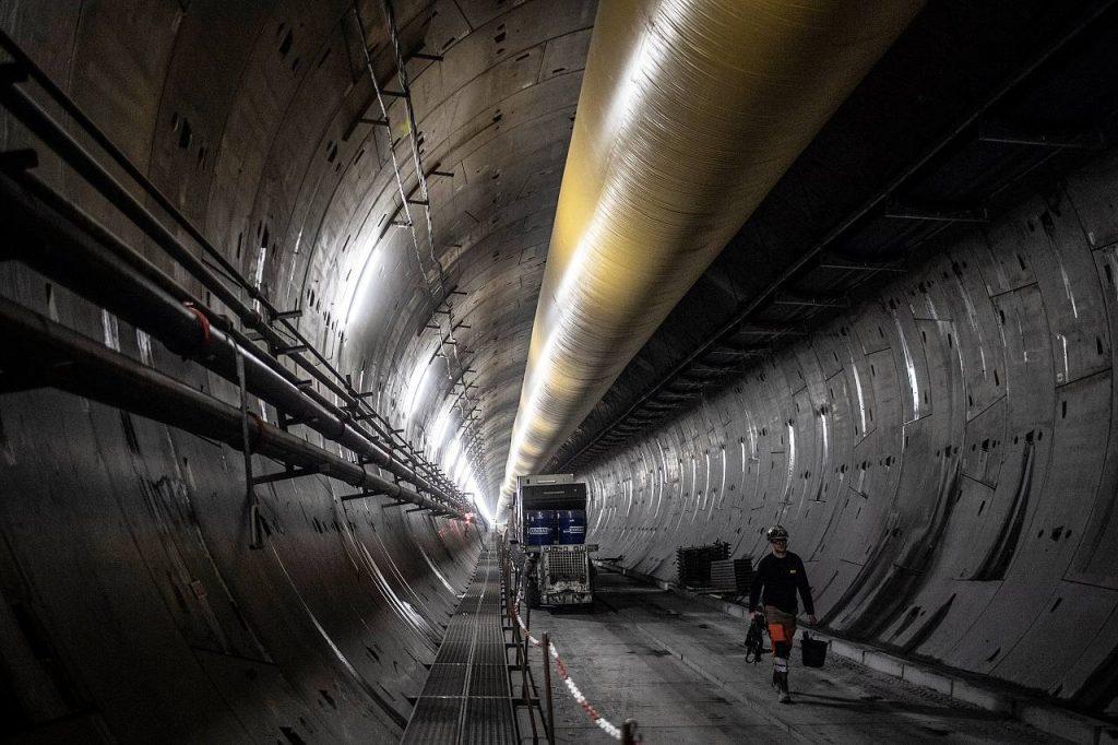 TAV treno alta vleocià lavori tunnel