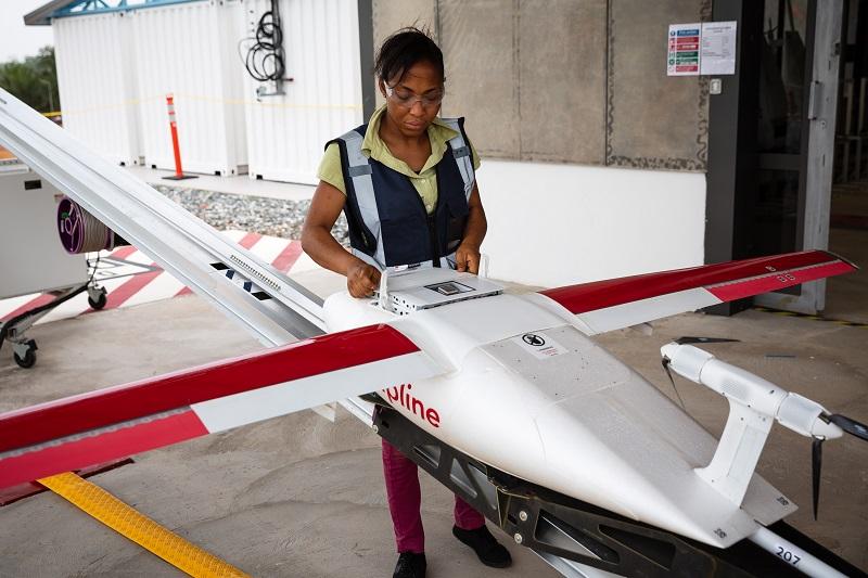UPS Ghana Drone