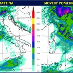"""Allerta Meteo, sarà un Giovedì 4 Aprile da incubo per l'Italia: lo scirocco scatenerà una """"bomba"""" di maltempo, """"valanga"""" d'acqua su 14 Regioni [MAPPE e DETTAGLI]"""