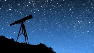 astronomia telescopio stelle notte