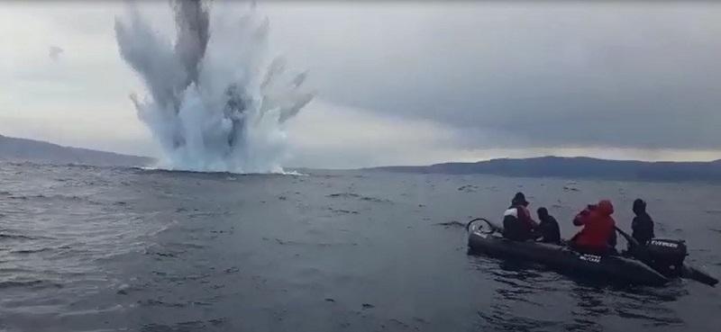 bomba Messina Marina Militare video