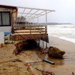Mareggiata di scirocco in Sicilia: Pasqua di passione per la spiaggia di Eraclea Minoa [FOTO e VIDEO]