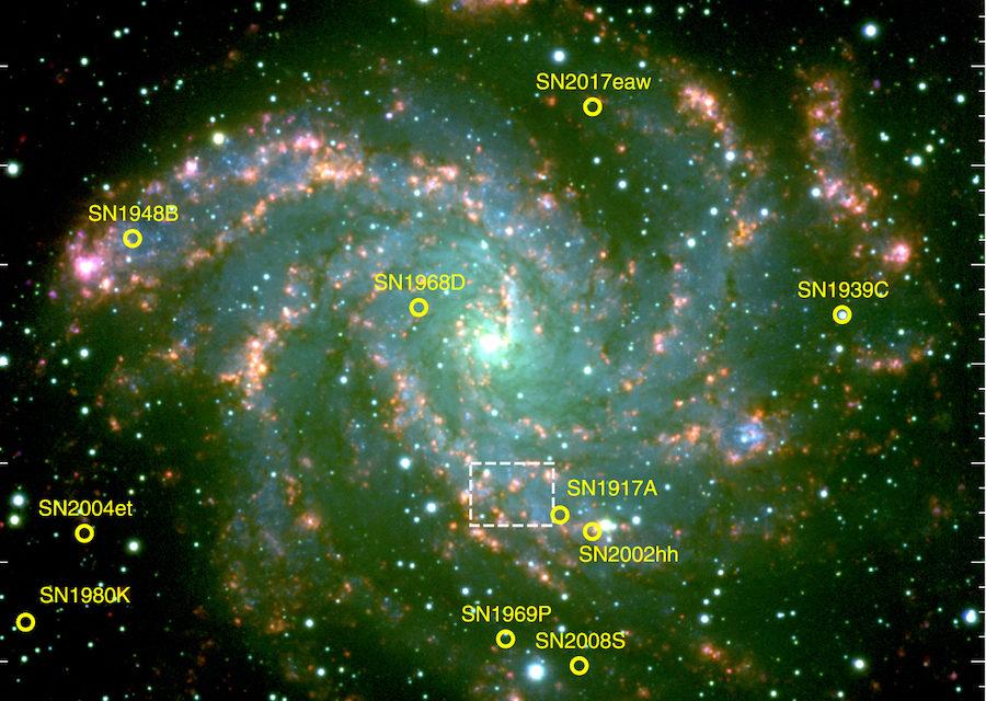 galassia a spiraleNgc 6946