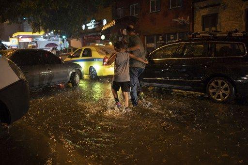 inondazioni rio de janeiro