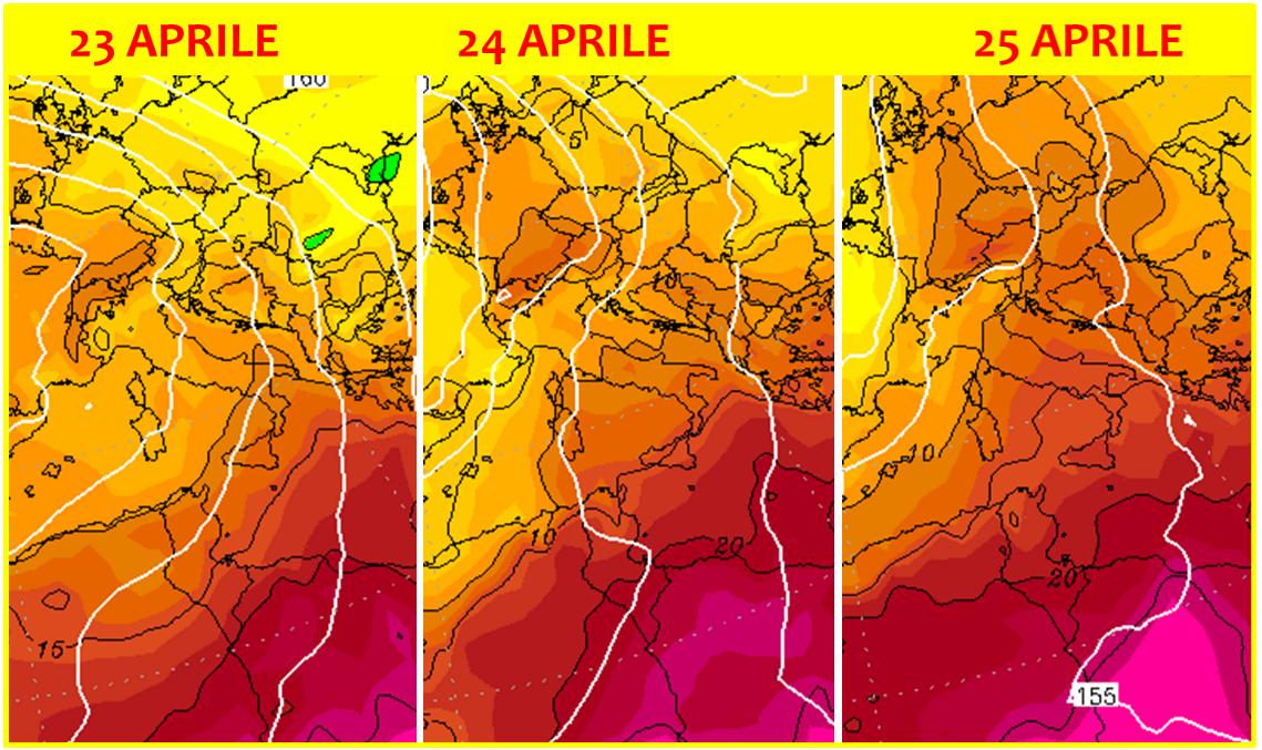 previsioni meteo 25 aprile 2019