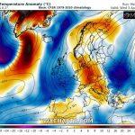 """Previsioni Meteo Europa, torna il freddo sulle isole Britanniche: neve a Londra mentre l'alta pressione """"infiamma"""" l'Artico [MAPPE]"""