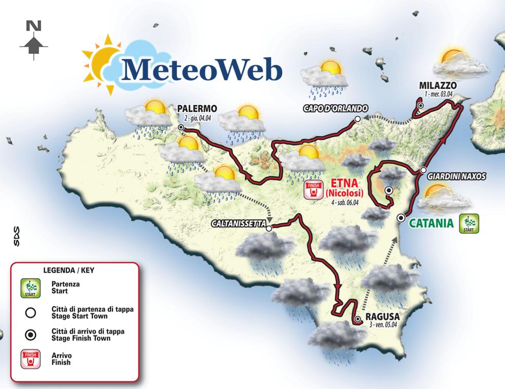 Giro di Sicilia, prima tappa a Riccardo Stacchiotti