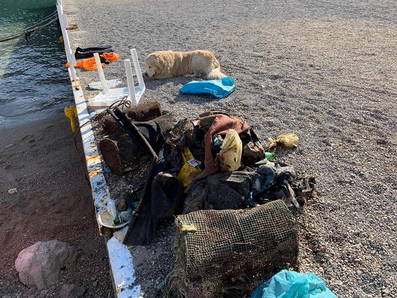 rifiuti mare Punta Campanella (2)
