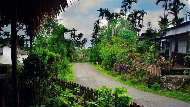villaggio indiano oasi natura