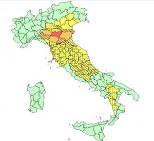 Allerta Meteo Italia Mercoledì 29 Maggio 2019