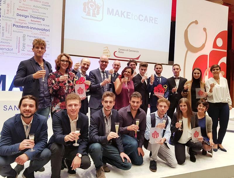 MaketoCare premiazione 2018