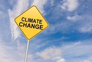 cambiamenti climatici cartello