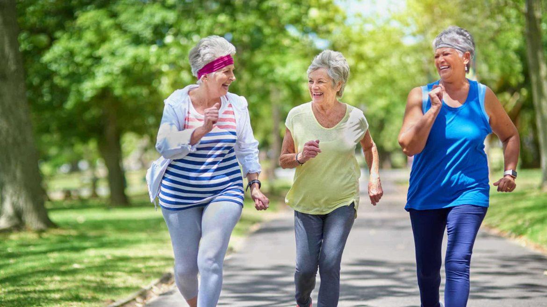 corsa donne anziani