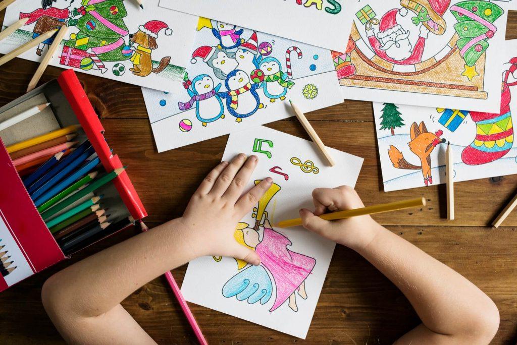 creatività disegni bambini