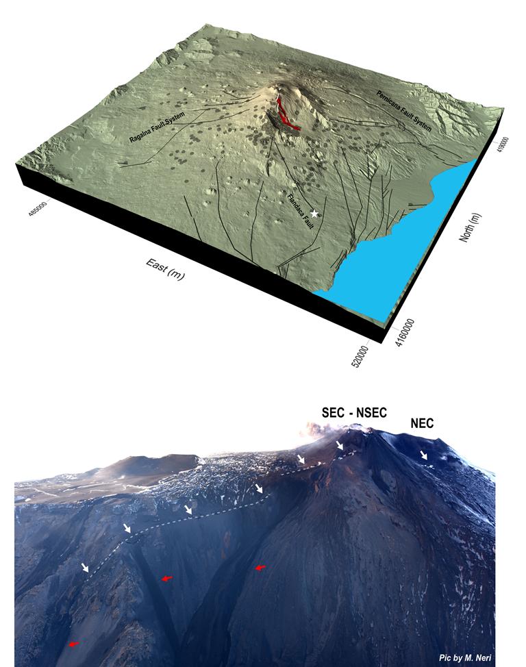 Etna, svelata la causa del forte terremoto del 26 Dicembre ...