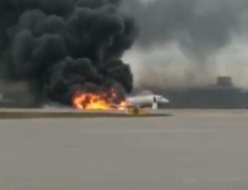 incidente aereo mosca