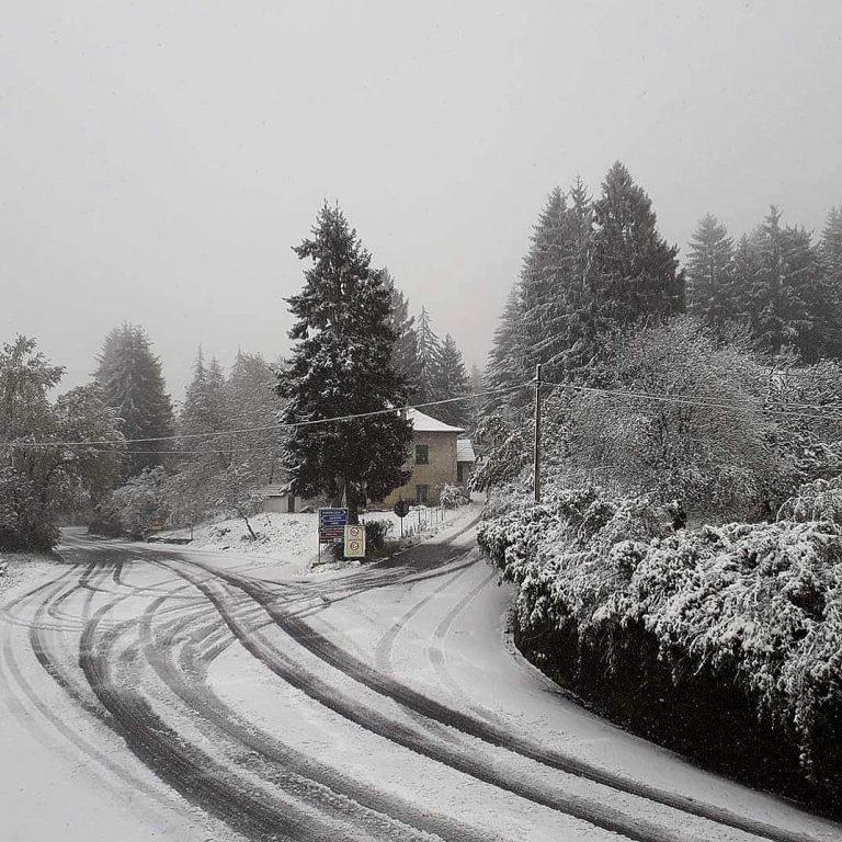 La neve in Liguria