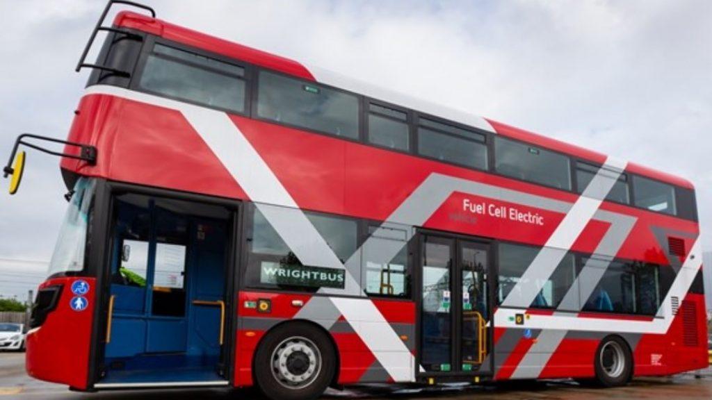 londra autobus idrogeno