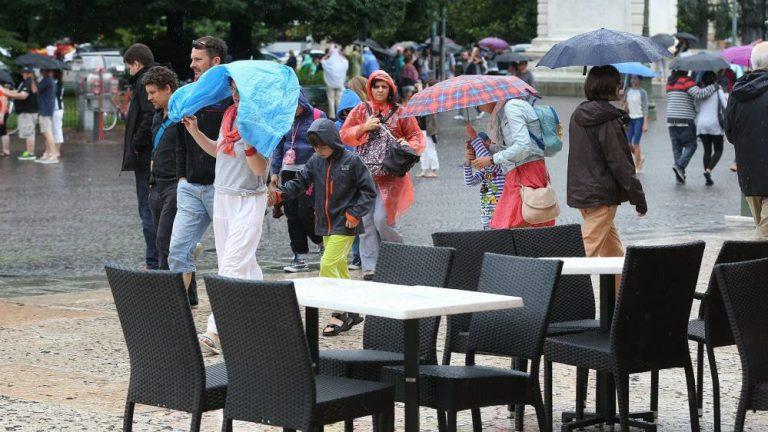pioggia turismo maltempo