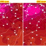 Meteo, nel pomeriggio il picco massimo dell'ondata di caldo africano: oltre +40°C al Centro/Nord [DATI LIVE]