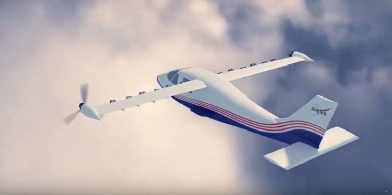 aereo elettrico nasa
