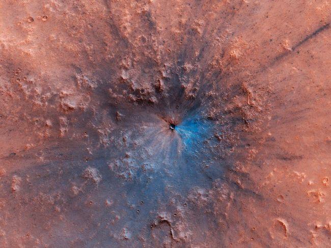 cratere marte MRO