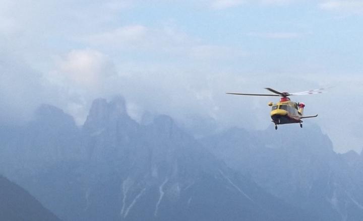 elisoccorso in montagna