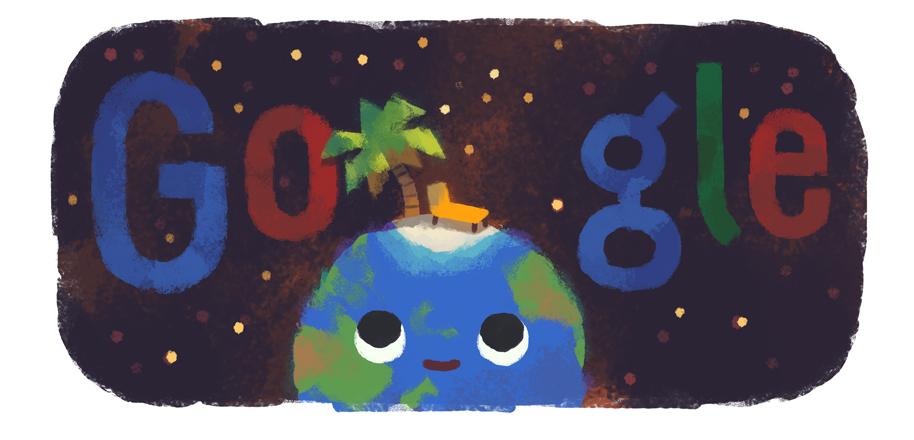 equinozio d'estate 2019 doodle google