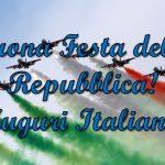 Buon 2 Giugno, oggi è la 75ª Festa della Repubblica Italiana! Le più belle IMMAGINI, VIGNETTE, GIF, VIDEO, FRASI e CITAZIONI per gli auguri