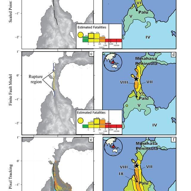 immagini satellitari sisma usgs