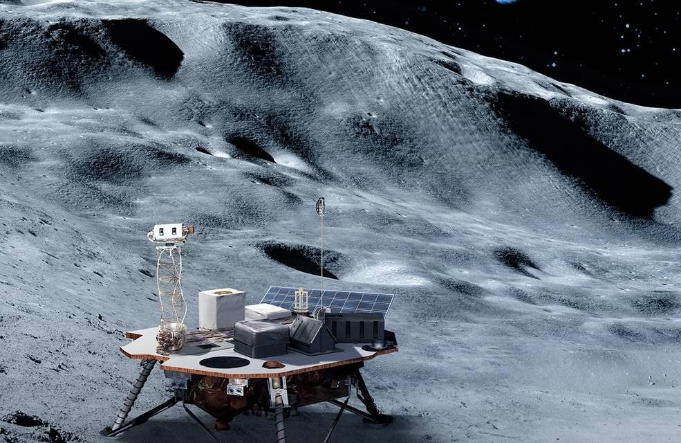 nasa lander luna