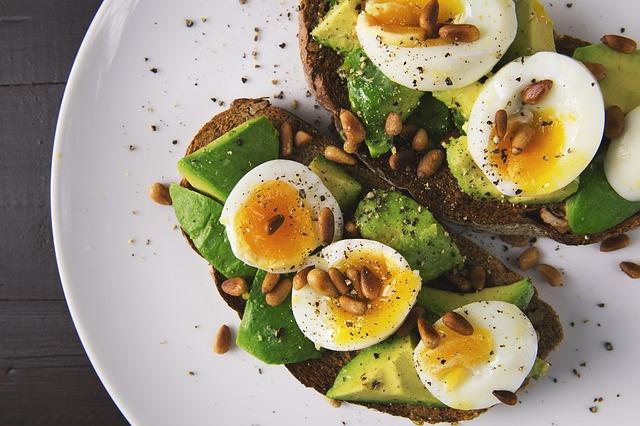 piatto avocado