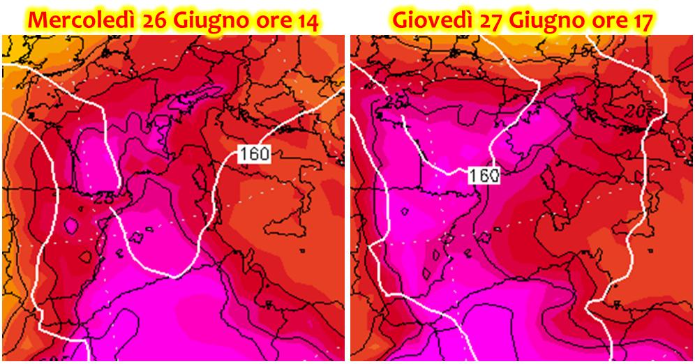 previsioni meteo ondata di caldo africano italia fine giugno 2019